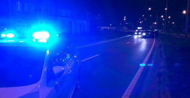 Mad chase ends in Borgerhout: three suspects arrested, one inspector injured