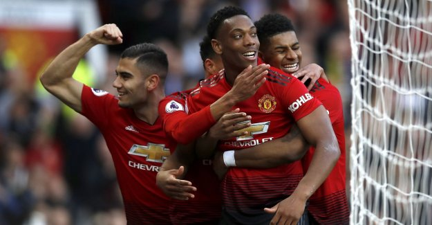 Man United beat Watford in the first match since the permanent appointment of Solskjaer, Lukaku is not of the bank