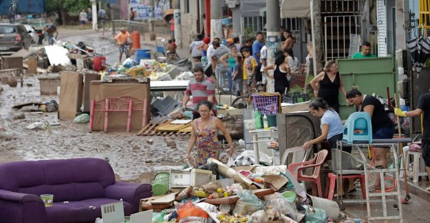 Many of the dead in brazilian storm