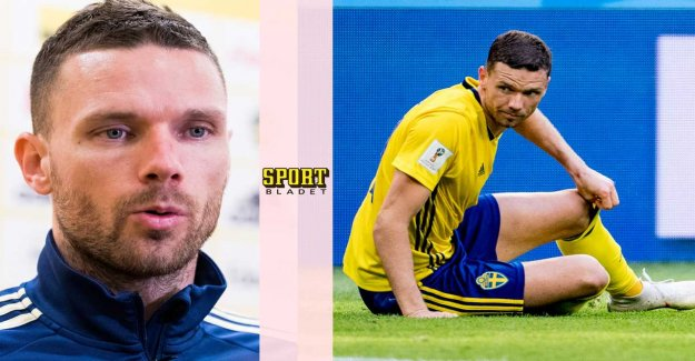 Marcus Berg of tough criticism: Was touched