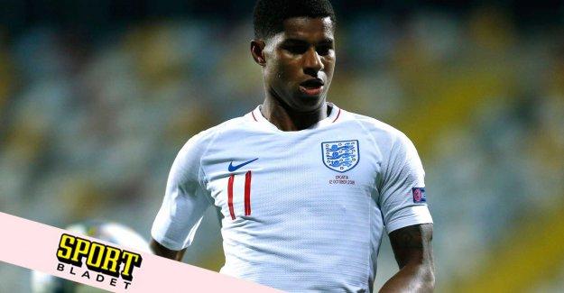 Marcus Rashford miss England's european CHAMPIONSHIP kvalmöte