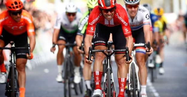 Matthews sprints to victory in Tour of Catalonia, the second stage win for Australian