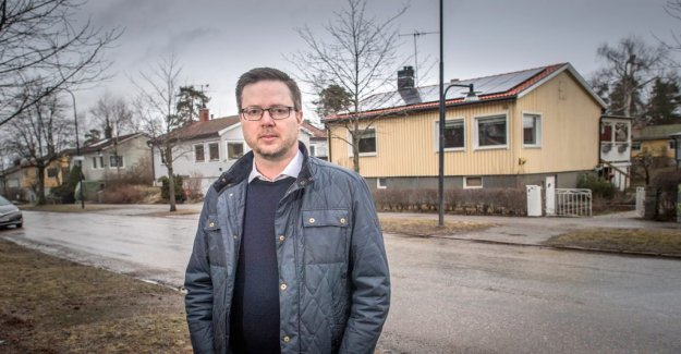 Matti appealed and won the right to put up solar cells – of the climate