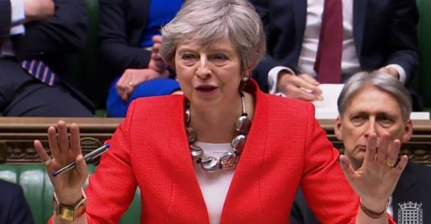 May warns: No to my agreement could mean goodbye to brexit