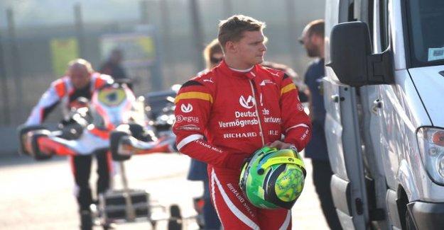Michael schumacher's son gets Kimi Raikkonen driving an F1 car behind the wheel!