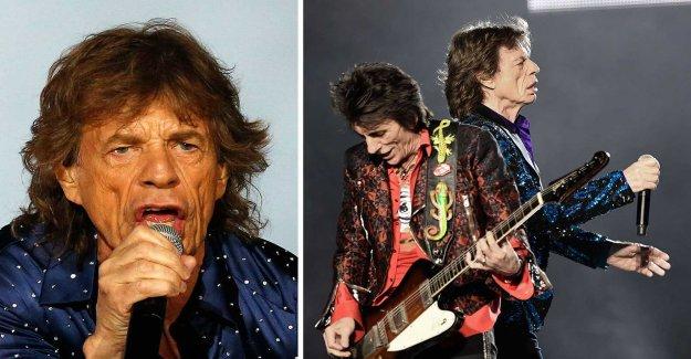 Mick Jagger sick rolling Stones tour being postponed