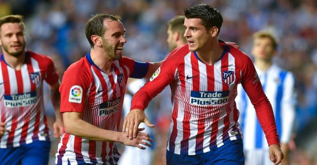 Morata header Atlético to victory in Barcelona-the hunt