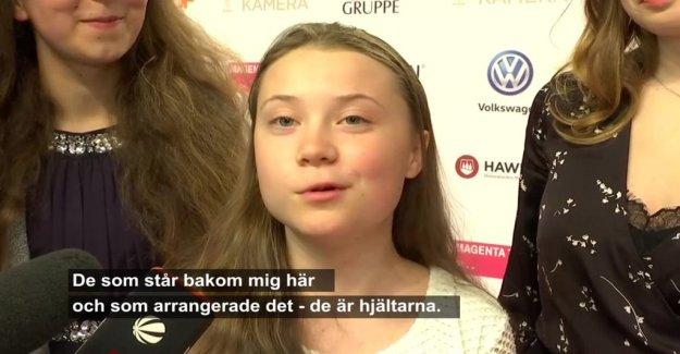 More awards to Greta Thunberg