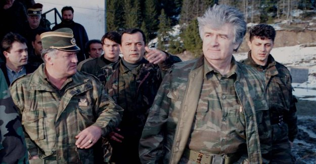 Most people think on life sentence for Karadzic