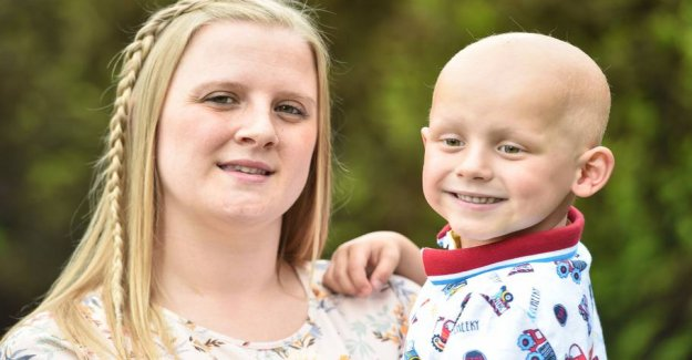 Mother played donations for son's cancer treatment away