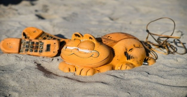 Mystery of stranded Garfield phones is solved