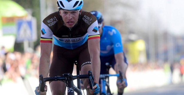 Naesen crunched on the Tiegemberg: Against the force majeure Deceuninck-Quick.Step is, for now, not much to start