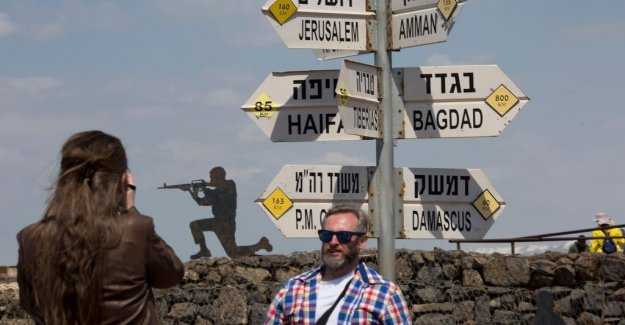 Nathan Shachar: Uncertain who will laugh last on the Golan