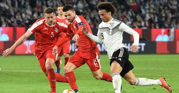 National team : Germany only 1:1 against Serbia