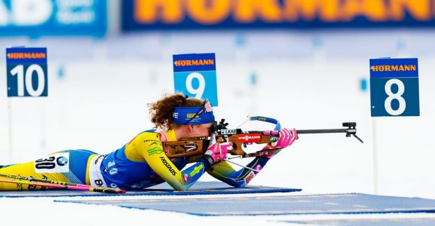 Nerves of steel – because of this, Hanna Öberg world CUP-gold