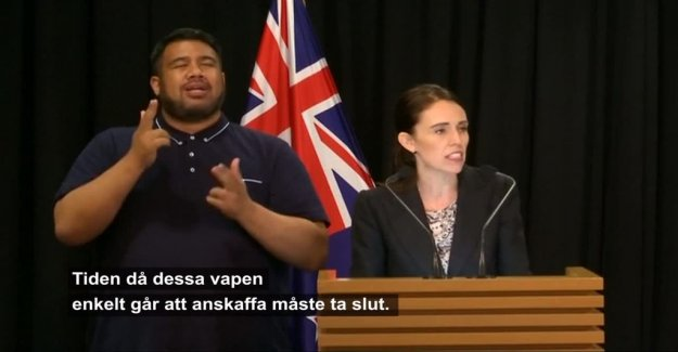 New Zealand stops certain weapons