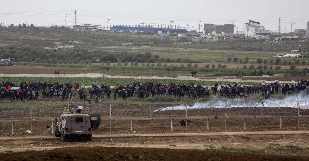 New attacks on the Gaza strip