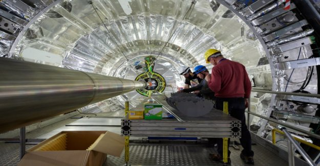New milestone of particle physics at Cern