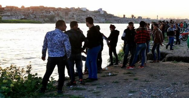 Northern Iraq : 85 Dead in ferry accident on the Tigris