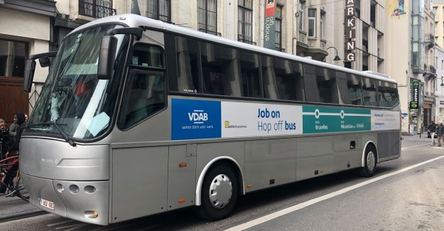 Nouveau job? Le prochain stop! VDAB and Actiris convert from Brussels bus to job in the Vlaamse rand