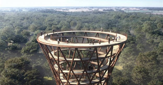 Now open the big tower in the Danish forest