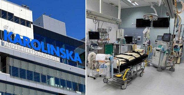 Nurses are fleeing from intensivakuten at the New Karolinska