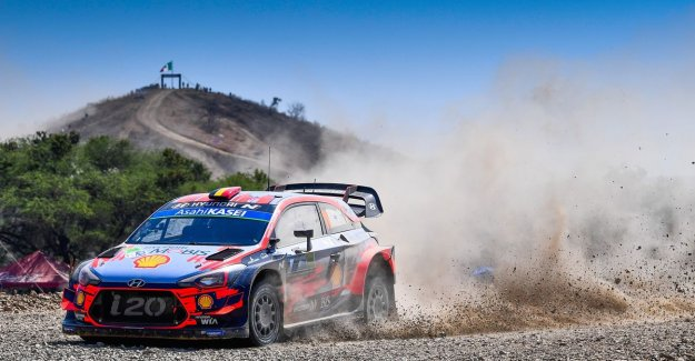 Ogier wins Rally of Mexico, which bulged of incidents, Neuville to finish fourth