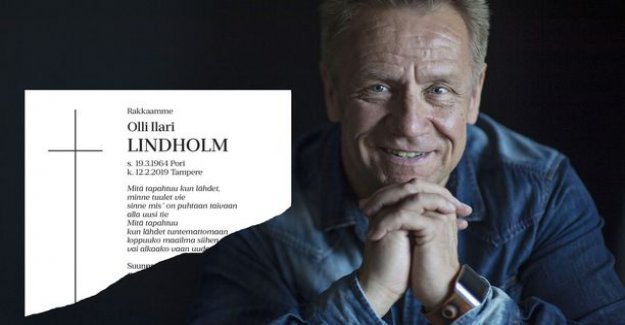 Olli lindholm's touching the death notice was released a Hundred People: What happens when you go into the unknown