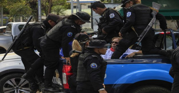 Ortega's government to release the prisoners