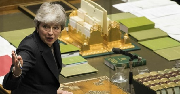 Outrage and anger in the house of Commons after may's Brexit-address