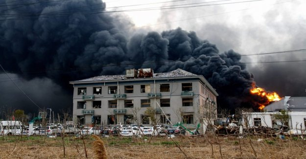 Over 60 dead after fabriksexplosion in China
