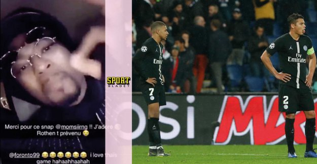 PSG romp after the star's video