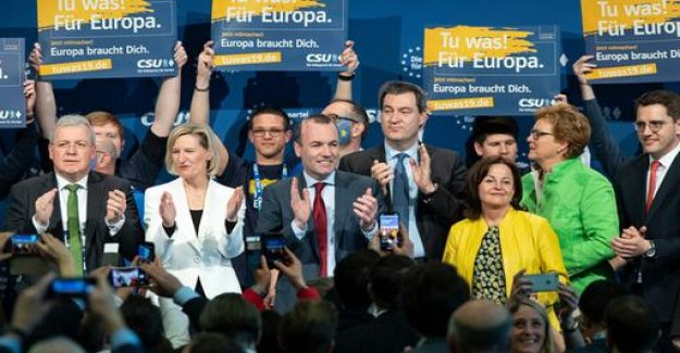 Party Congress in Nuremberg: CSU, says the populists the fight