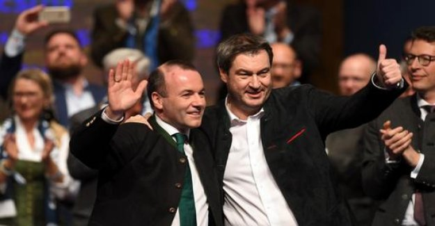 Party Congress of the CSU: A fiery' Yes 'to Europe