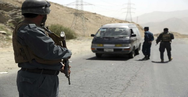 Police officers killed in the talibanattack
