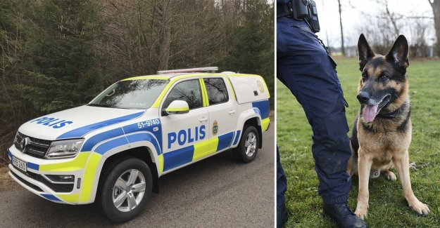 Police vehicles are changed out – the dogs will get to ride more comfortably