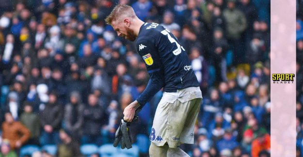 Pontus Jansson was in goal against Sheffield United