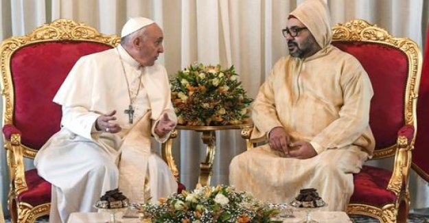 Pope in Morocco: working Together for more dialogue