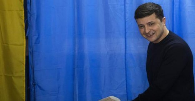 Presidential election in Ukraine: a comedian in front of incumbent
