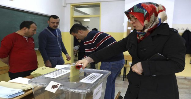 Pressed for maktpartiet in Turkish local elections