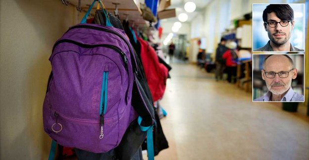 Privatisation caused the crisis in our schools