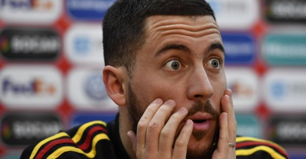 Profvoetbalster as mama, started on his fourth, and married to his childhood love: 10 things you didn't know about Eden Hazard