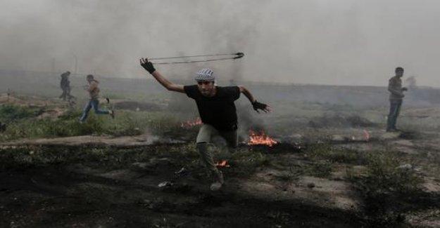 Protests at Gaza border: Again escalates