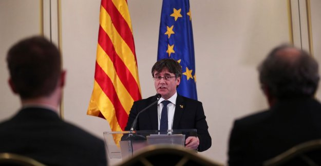 Puigdemont a year ago arrested, Catalan wants to be fighting to continue as a member of the European parliament