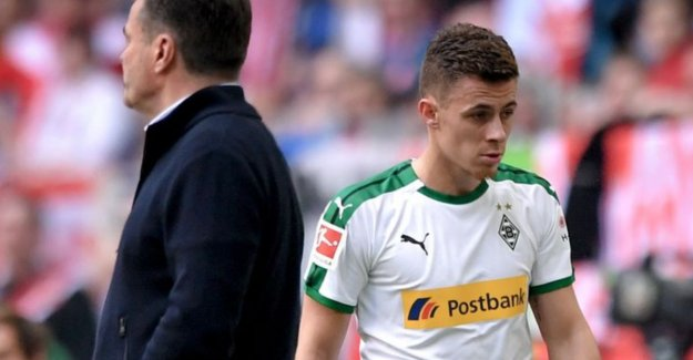 Raman steals with three assists in ten minutes of the show, evil Hazard even for the rest changed: I was very annoyed at me, Thorgan