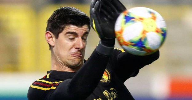 Real keeper if you fail horribly in the belgian EM-victory over Russia