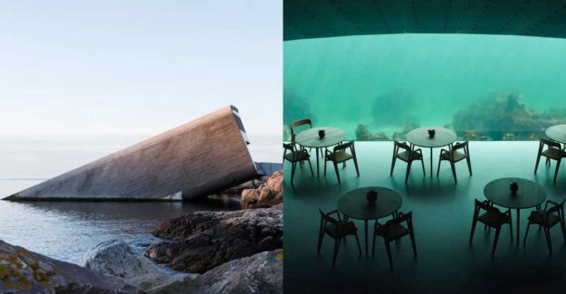 Restaurant under the water opens in Norway
