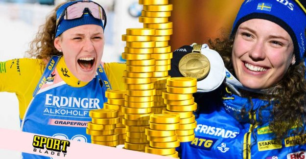 Reveal: So much earn Öberg at the world CUP-gold