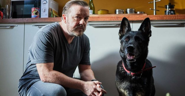 Ricky Gervais heroes are considered rarely as the society's winners