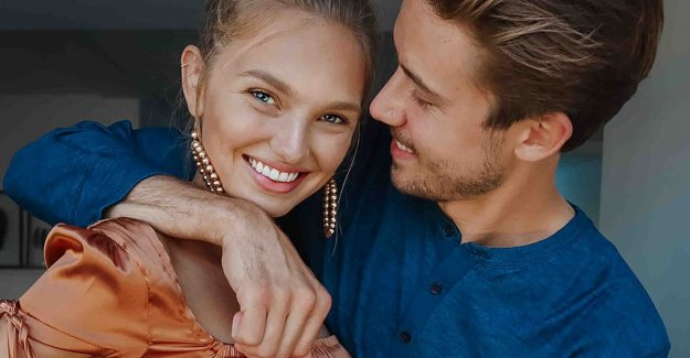 Romee Fight after ten years, still madly in love with Laurens: 'It never changes'